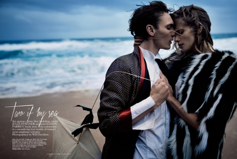 Vogue Australia August 2013-Two if By Sea