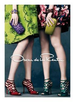 Oscar De La Renta Fall/Winter 2013 Ad Campaign