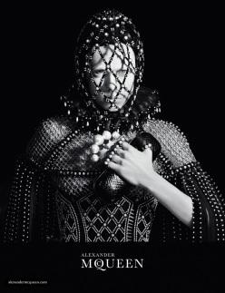 Alexander McQueen F/W 2013.14 Ad Campaign