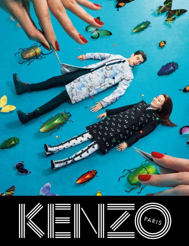 Kenzo Fall/Winter 2013-2014 Ad Campaign