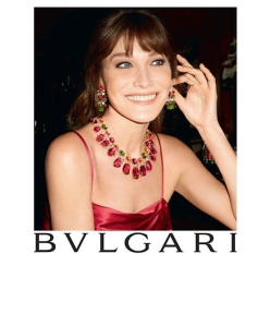 "Bvlgari ""Diva"" Collection Ad Campaign"