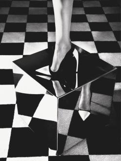 Nadja Bender for Dior Magazine Fall 2013