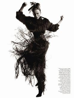 Vogue Paris October 2013-Rose Noire