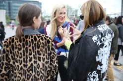 Street Looks at London Fashion Week, day 1