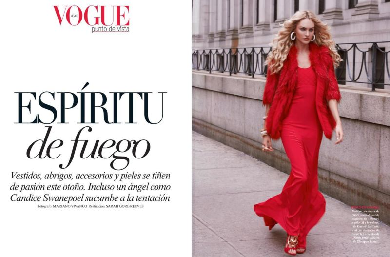 Vogue Mexico September 2013-Espiritu De Fuego