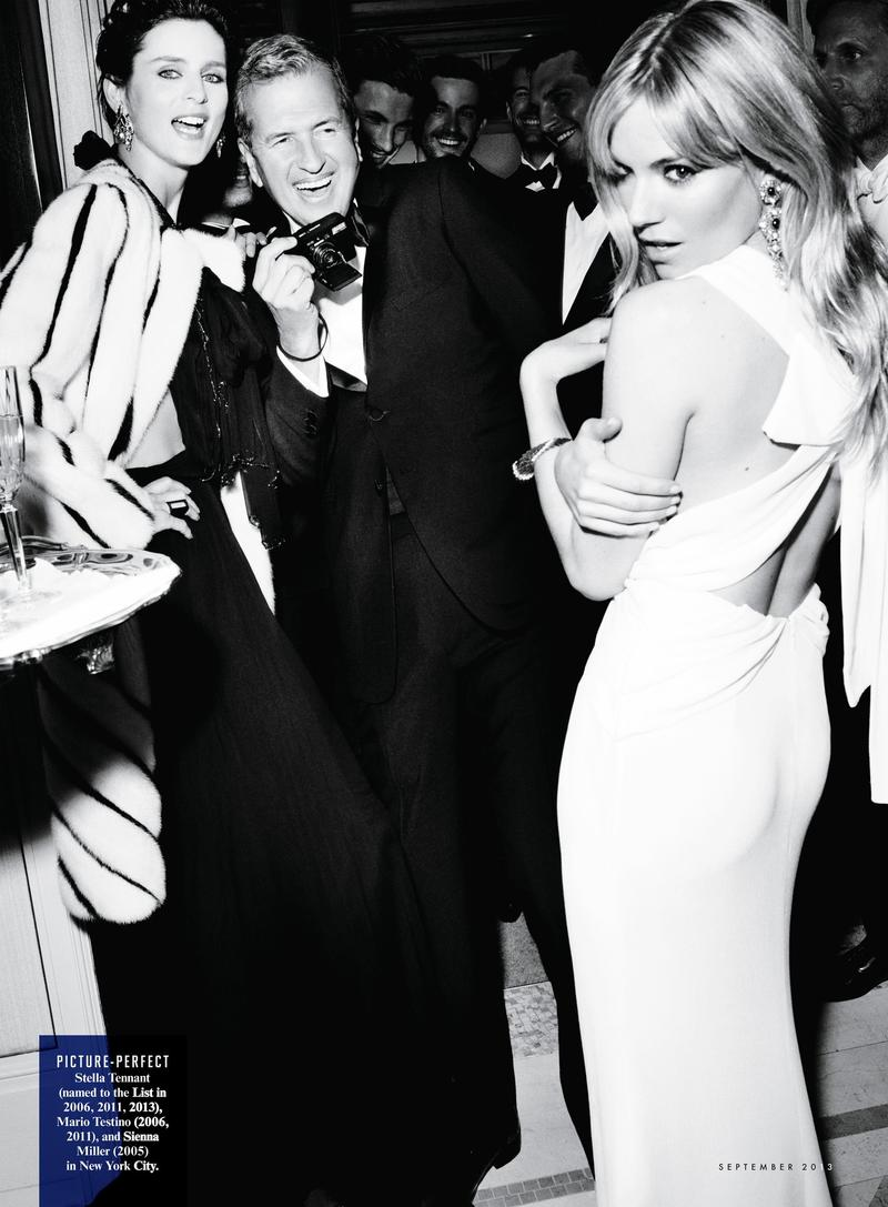 Mario Testino, Sienna Miller and Stella Tennant-Vanity Fair September 2013