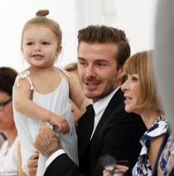 Harper at Victoria Bechkam Show
