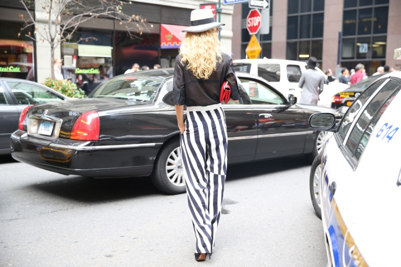 Street looks at New York Fashion Week, day 5