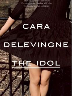 Cara Delevigne by Alasdair McLellan for Industrie