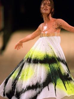 Shalom Harlow-McQueen's spring/summer 1999
