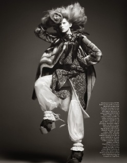Vogue Paris October 2013-Tribal