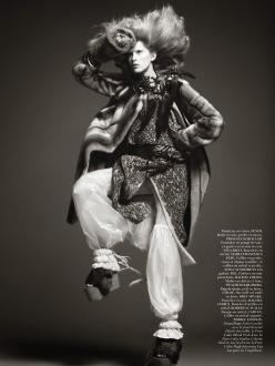 Vogue Paris October 2013-Tribal