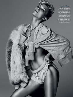 Vogue Mexico September 2013-Shine On