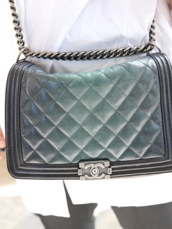 A Boy bag by Chanel