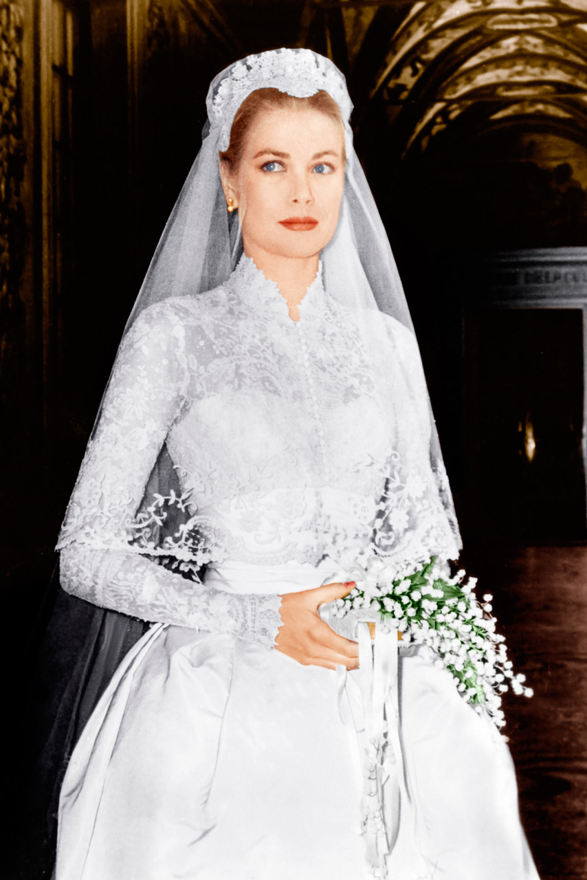 Dresses that changed the history of fashion part 2 a for Grace kelly dress wedding