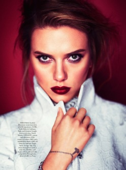 Harper's Bazaar Uk Ocotber 2013-Heart And Soul
