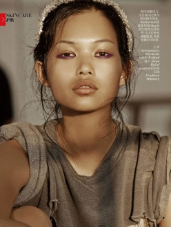 Vogue China October 2013-Face Sculptor