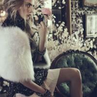 Cara Delevingne for Vogue Australia October 2013