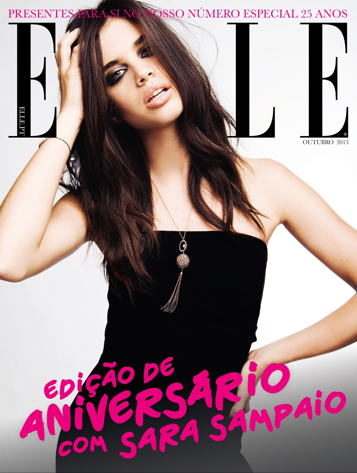 Sara sampaio for elle portugal october 2013 a stairway for Elle subscription change address