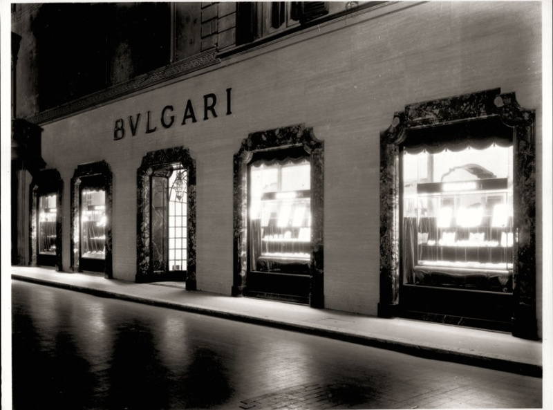 Bulgari Boutique in Condotti Street-Rome, 1934