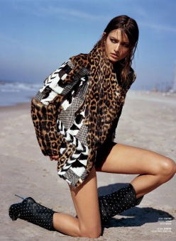 Andrea And The Finest Furs-V Magazine Fall 2013
