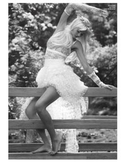 Miranda as Cicciolina for V Magazine Fall 2013