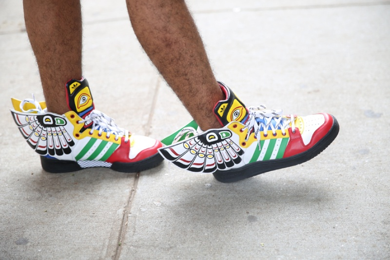 Adidas x Jeremy Scott sneakers