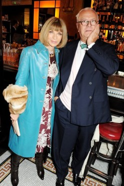 Anna Wintour and Manolo Blahnik