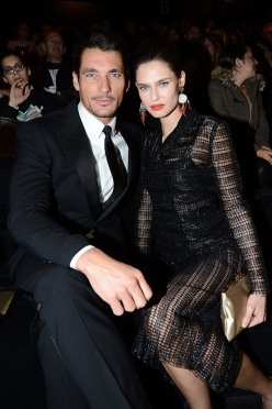 Bianca Balti and David Gandy at Dolce Gabbana