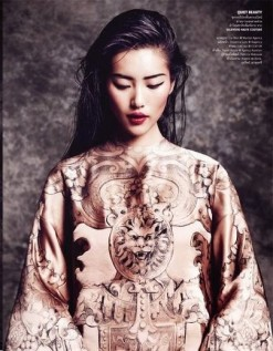 Vogue Thailand October 2013-The Empress New Clothes