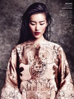 Vogue Thailand October 2013-The Empress New Clothes