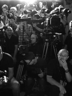 Photographers at Marc Jacobs Spring:Summer 2014 Show