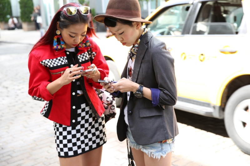 Street looks at New York Fashion Week, Day 4