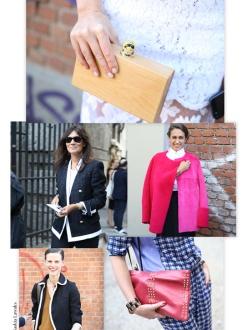 Street Looks at Milan Fashion Week, Day 2