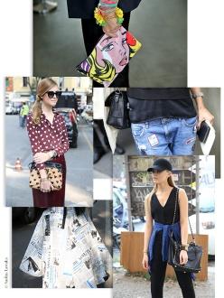 Street Looks from Milan Fashion Week, Day 6