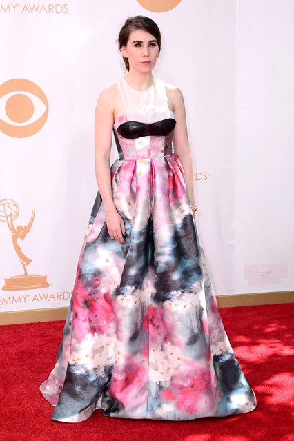 Zosia Mamet wore a dress by Honor.