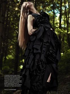 Suvi Koponen for Vogue UK November 2013
