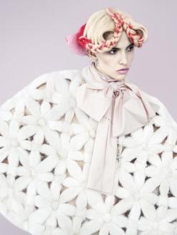 Ruby Aldridge for Harper's Bazaar Russia November 2013