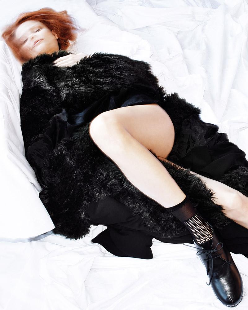 Magdalena Frackowiak for Purple Fashion Fall 2013-Woodcutters