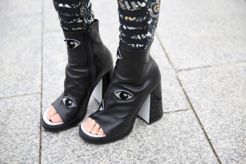 Kenzo pants and shoes