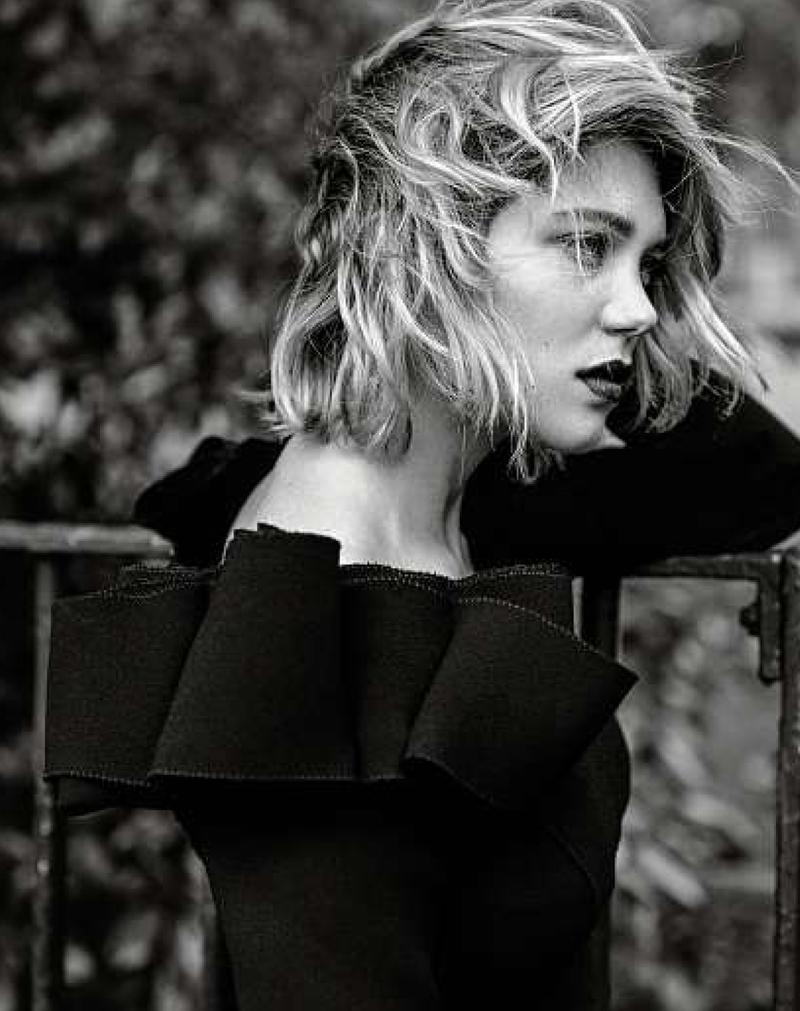 Lea Seydoux for Le Monde M Magazine September 2013