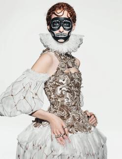 Kirsi Pyrhonen and Magdalena Jasek for Dazed & Confused November 2013-Virgin McQueen