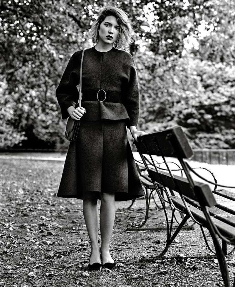 Lea Seydoux for Le Monde M Magazine September 2013