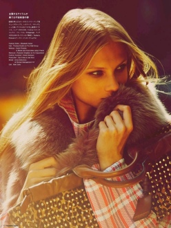 Anna Selezneva for Numero Tokyo November 2013-Anna In New York