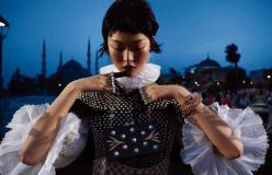 Tian Yi for Harper's Bazaar China November 2013-Turkish Delight