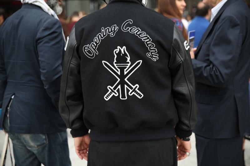 Opening Ceremony varsity jacket