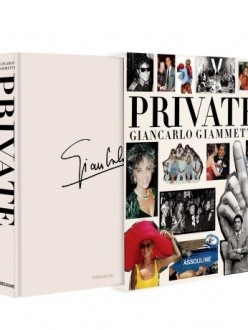 """The cover of """"Private- Giancarlo Giammetti."""""""