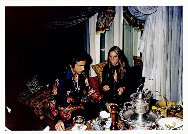 Giancarlo Giammetti and Barbra Streisand, New York, 1969