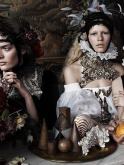 Anna Ewers, Sam Rollinson and Ashleigh Good for Vogue Uk December 2013