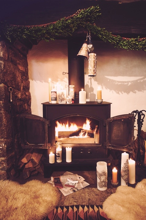Karlie Kloss, Martha Hunt, Ajak Deng and Anna Selezneva for Free People-Mystical Holiday